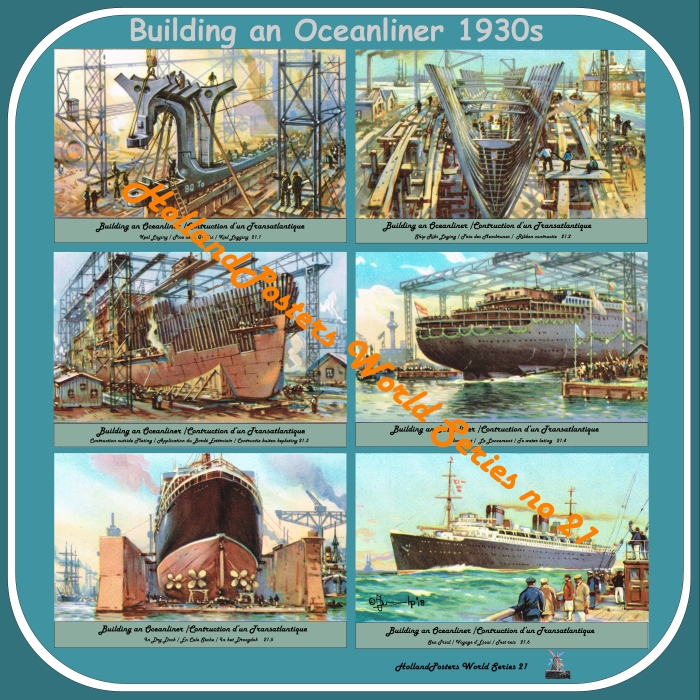 Building an Oceanliner 1930 HP WS 21  English , French an Dutch